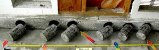 Destructive testing to obtain concrete cores from deteriorated foundation